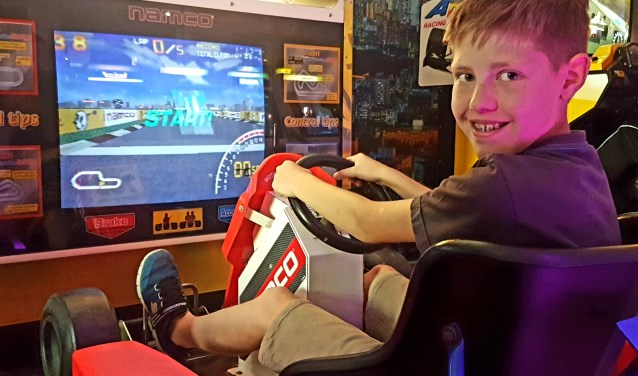 Julian geniet het meest van de games waarbij het lijkt of je zelf echt onderdeel uitmaakt van het spel.