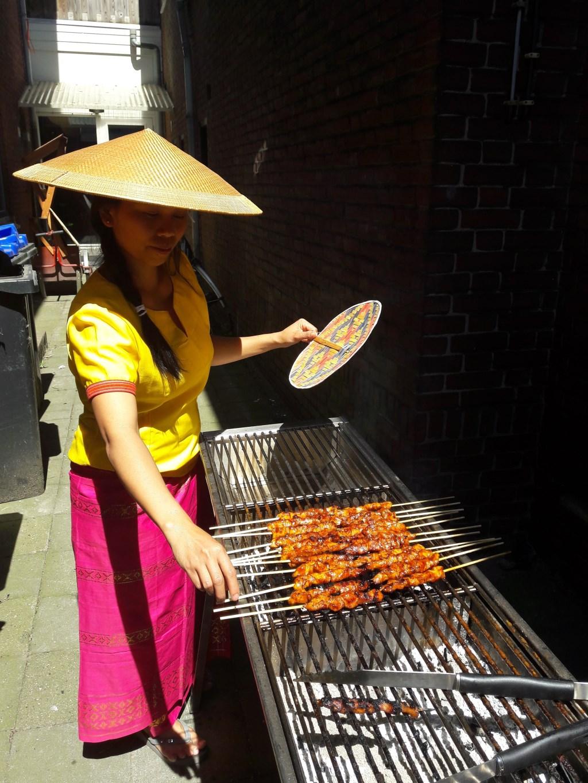 Onze Indonesische keukenpinses