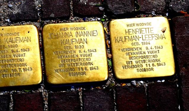 'Toen ik laatst in Gennep kwam, bleek dat daar voor alle huizen waar joden weggevoerd zijn struikelstenen zijn geplaatst.'