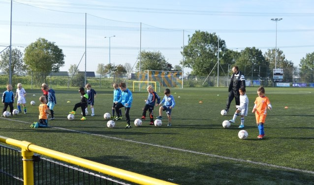 training kabouters FC Zoetermeer