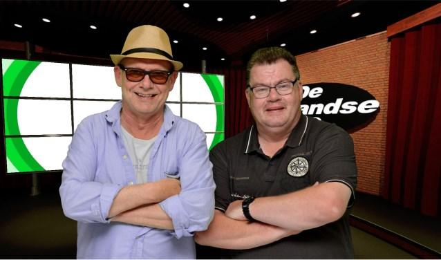 Simon Stokvis en Richard Veen (Foto: RTV Ridderkerk)