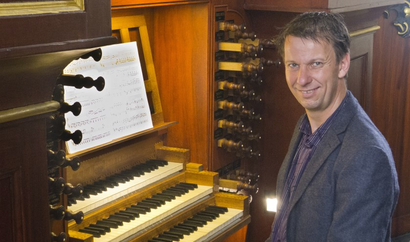 Harry van Wijk verzorgt zaterdag 21 juli een concert in de vernieuwde Dorpskerk in Ruurlo.