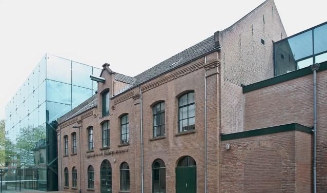 Gebouw 'Tapisserie en Damastweverij', onderdeel van rijksmonument Mommerscomplex.