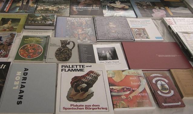 Kunstboeken op de boekenmarkt Bredevoort