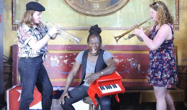 Ricciotti ensemble komtop 12 augustus naar Sint Anthonis. (foto: persfoto)