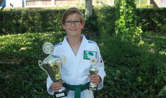 Jayden Hoogeveen judoka van het jaar bij Judo Ryu Rijkse