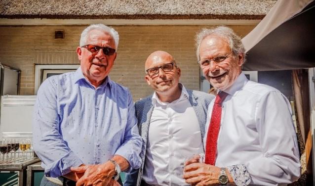 Van links naar rechts: Leon van Minderhout, Berthold van Leeuwen, en Herman Wevers. Foto: Fotografie Mike Rikken.