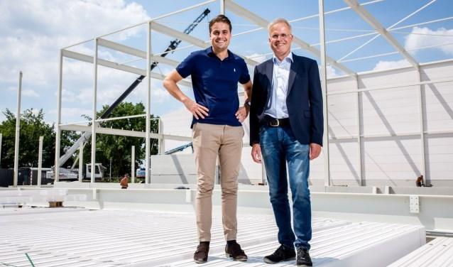 De mannen achter het bedrijf Zenith Rubber Europe, hoofdsponsor van de Rijnweek Rhenen.