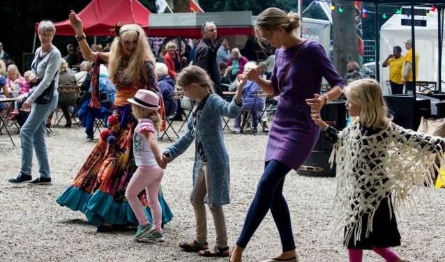 Volop vermaak voor jong en oud op het Walk Art Festival