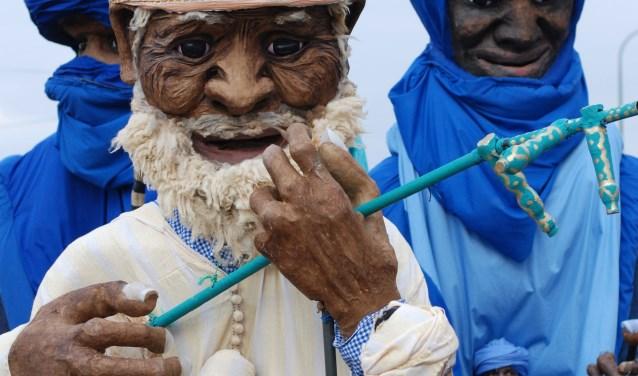 De openingsvoorstelling van Festival Spoffin is dit jaar de sprookjesachtige voorstelling Azalaï van het Marokkaanse gezelschap Collectif Eclats de Lune. (Foto: Spoffin)