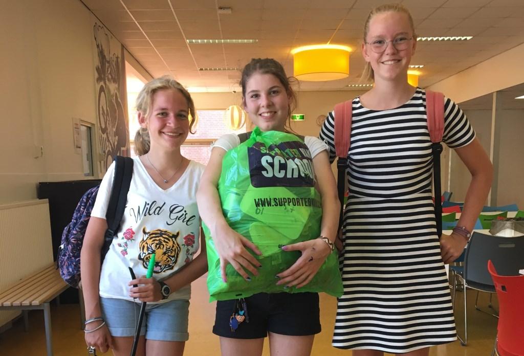 Leerlingenvan RSG Lingecollege sloten het schooljaar af met het onderzoeksproject 'Expeditie Zwerfafval'.