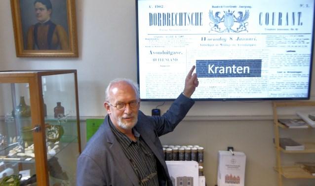 Zeg je 'Jan Willem Boezeman', dan zeg je 'Augustijnenhof' en in één adem door 'geschiedenis'. (Foto: Jaap Dambruin)
