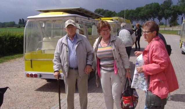 Iedereen had het prima naar de zin na het ritje met de zonnewagentjes. (Foto: Facet)