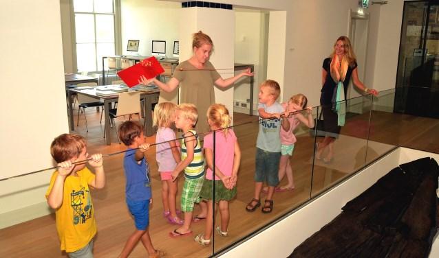 De jeugd heeft de toekomst! Zeker en met name in Museum Vlaardingen. (Foto: Frans Assenberg).