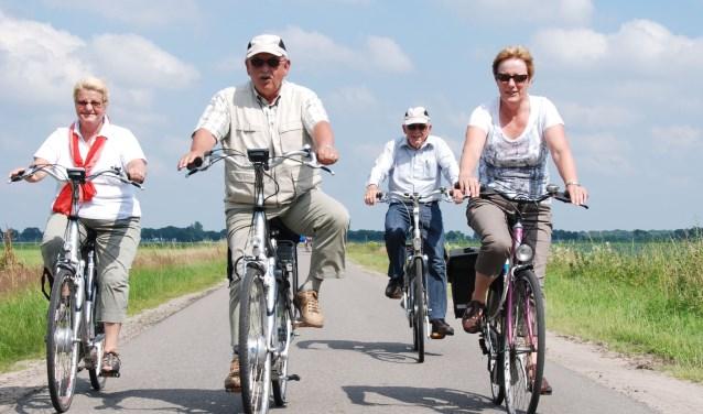 Het gaat bij de Drunense Fietsvierdaagse niet alleen om fietsen. Gezelligheid is misschien nog wel belangrijker.