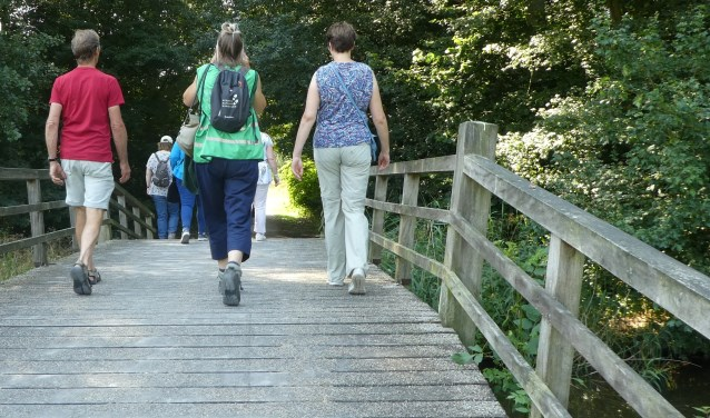 begeleiders van de wandelgroep Gezond Natuur Wandelen