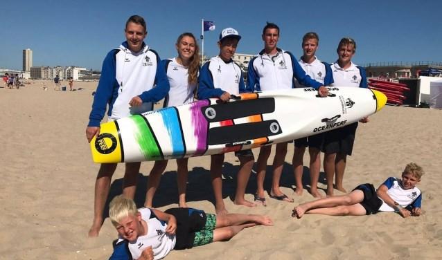 Lifesaving Team Vlissingen op de wedstrijd in Oostende