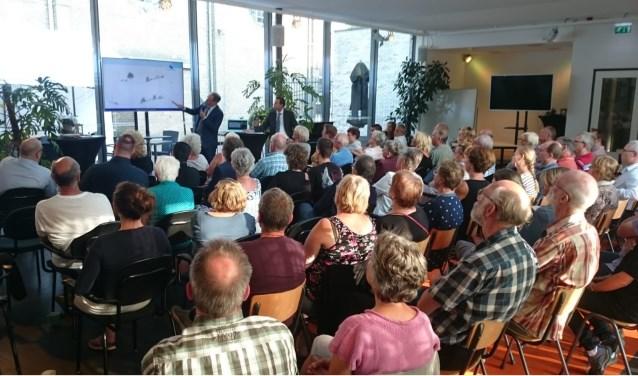 Op 27 juni werden de aangepaste plannen voor project Nutrihage gepresenteerd aan belangstellenden bij De Kappelaan.
