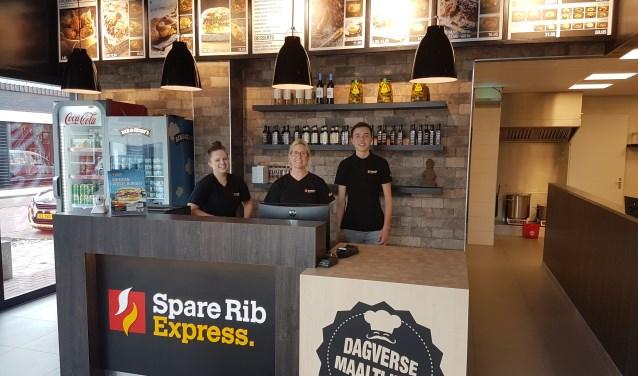 Spare Rib Express opent zaterdag aan de Kuipersdijk.