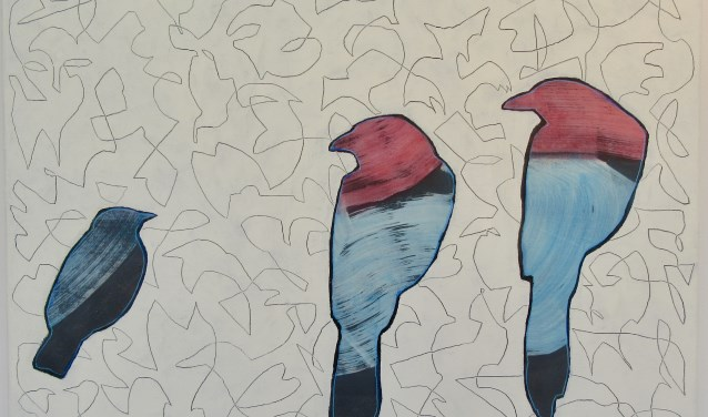 Three birds, Denny Baggen.