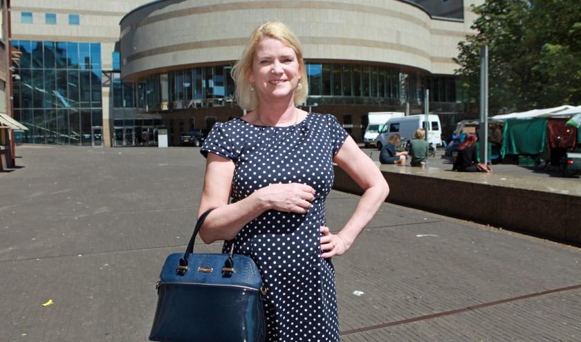 Sabine was 16 toen ze in haar beleving voor het eerst kennis maakte met Den Haag. (Foto: Jos van Leeuwen)