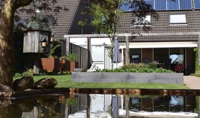 De provincie wil graag dat inwoners hun tuin gaan vergroenen. Daarom hebben zij zich aangesloten bij Operatie Steenbreek. Foto: Jolien van Gaalen.