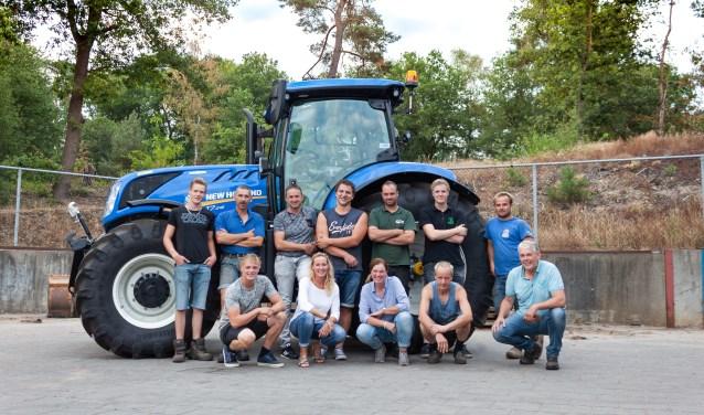 Het team van het nieuwe bedrijf AGL Holten BV.