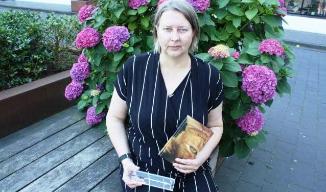 Suzanne Wouda won met haar kinderboek Sabel een Zilveren Griffel.