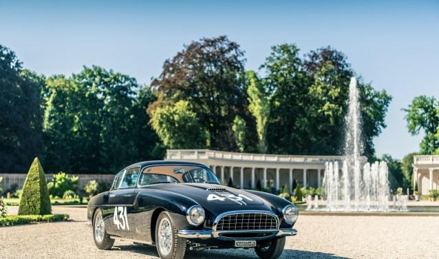 Het internationale concours werd dit jaar gewonnen door de Fiat 8V Vignale Coupé uit 1955 van Jan de Reu, deelnemer in de categorie Special Italian Coach Work Post War.