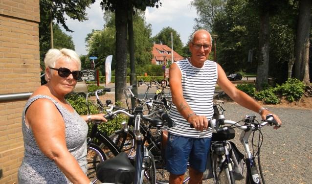 Het echtpaar De Knegt uit Spijkenisse is helemaal op zijn plek op de Veluwe