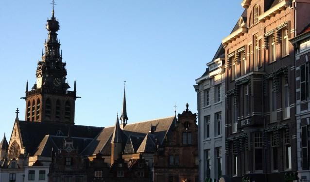 Om de week wordt ook de toren van de Stevenskerk bezocht. Vooraf aanmelden is niet nodig. (Foto: Wim Bilo)