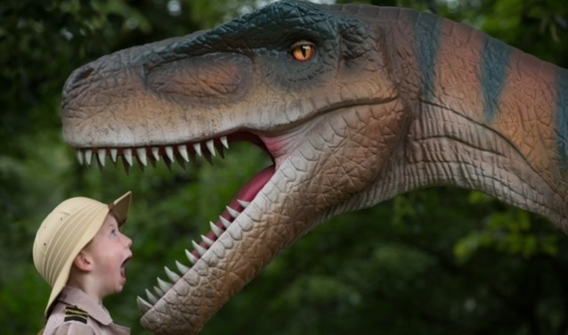 Maak kennis met de vele dinosauriërs tijdens Jurassic Kingdom Foto: Martin Shields