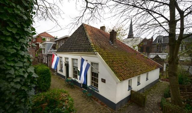 Onder andere Het Wevershuisje is geopend tijdens de Monumentendag (foto: Eric Brinkhorst)
