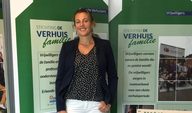 Simone van Heeren is een nieuw bestuurslid van De Verhuisfamilie. (Foto: pr)