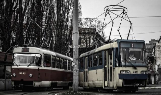 Een van de geëxposeerde foto's binnen het thema 'vervoer'. Foto: Harry List.