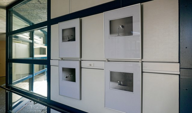 Foto-expositie van Helios  in de poligangen van Streekziekenhuis Koningin Beatrix.Foto: PR