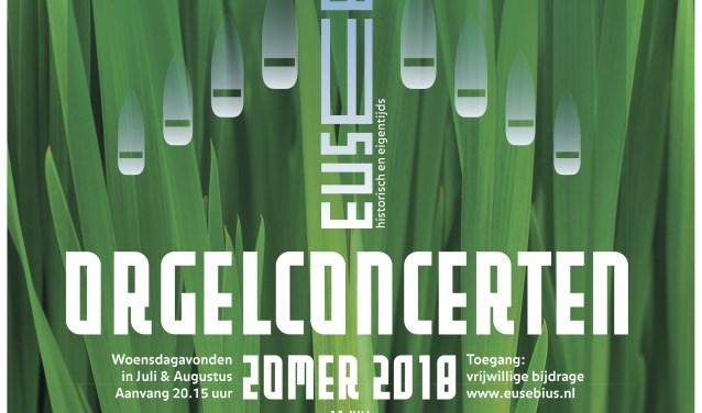 affiche orgelserie Eusebius 2018