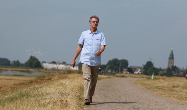 """Arno: """"Ik hou enorm van wandelen, de ritmische beweging liefst met wat klimmen erbij is verslavend."""""""