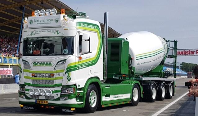 Deze vrachtwagen haalde de eerste prijs in de categorie Speciale Voertuigen tijdens het Truckstar Festival.