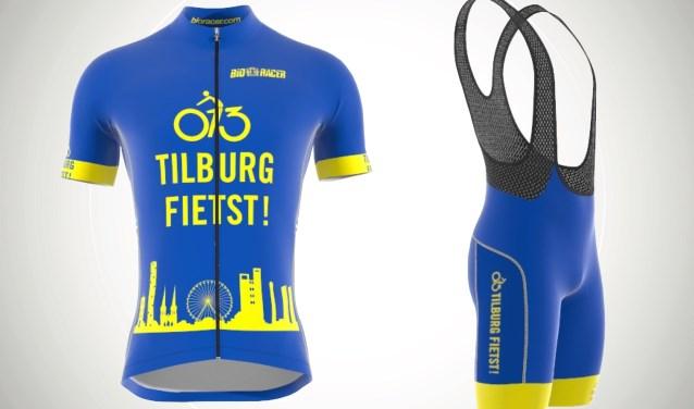 Het nieuwe Tilburg Fietst wielertenue wordt op het festival 'live' getoond. Liefhebbers kunnen nu al bestellen.