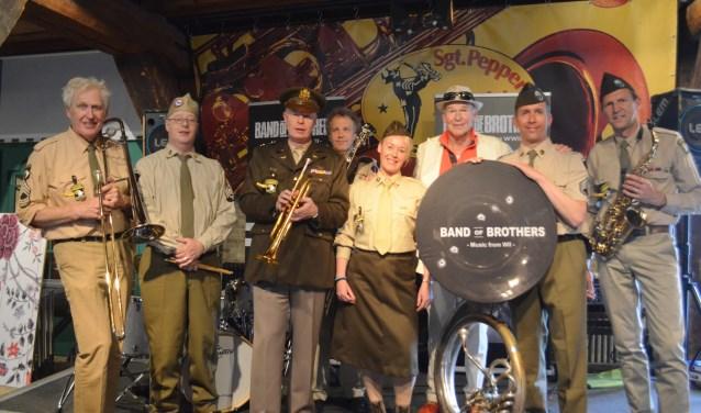 Een van de nieuwe voorstelling is de landelijke première van Peter Faber / Band of Brothers – Music from WWII