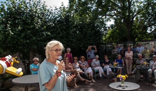 Directeur-Generaal van Rijkswaterstaat Michèle Blom opent de tentoonstelling