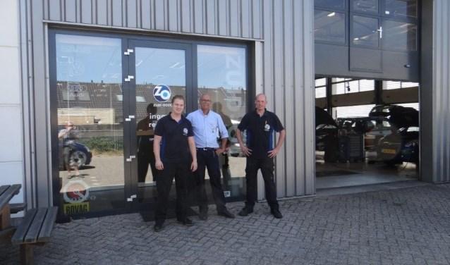 """""""Nu na 4 maanden hebben we de zaken op orde en genieten ervan als klanten tevreden zijn"""", aldus Jasper en zijn collega's Jan en Sebastiaan"""