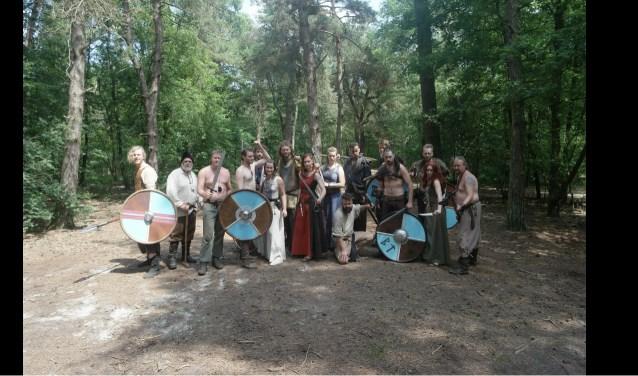 De Zeeuwse LARP groep Takamaa telt momenteel 16 leden, zowel heren als dames. Foto: Conny den Heijer.