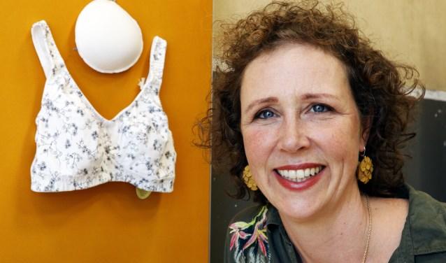Suzanne Kemps is de drijvende kracht achter Proud Breast, voor innovatie op het gebied van borstprotheses. (foto Auke Pluim)
