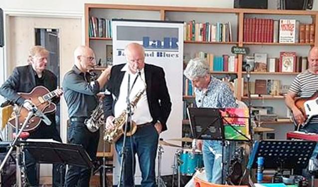 Jazz and Blues op de zondagmiddag in het Boekencafé