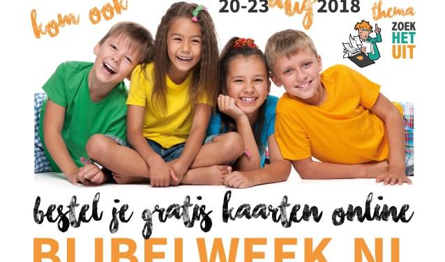 Promotie Bijbelweek