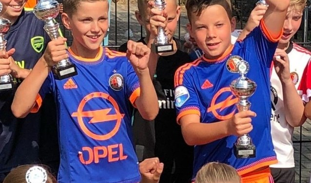De twee straatvoetbalkampioenen 2018