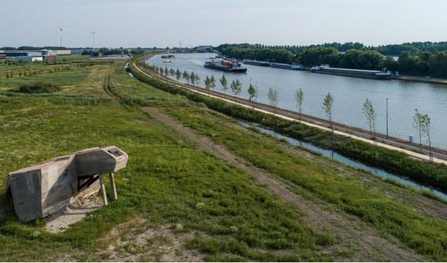 Rijkswaterstaat heeft het Sluispad langs het Lekkanaal inmiddels weer opengesteld. Foto RWS.