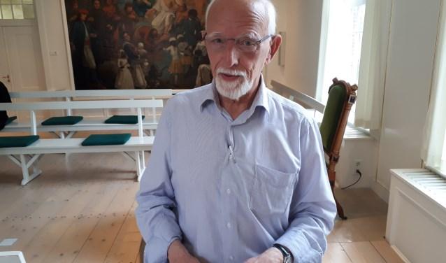 Dominee Hans Kronenburg, voorganger van 25 juli. FOTO: Maarten Bos